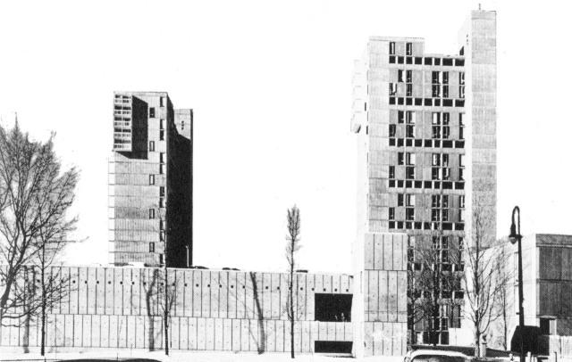 Fuck Yeah Brutalism | Peabody Terrace, Harvard University, Cambridge,...